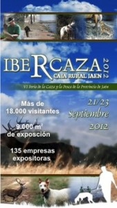 cartel ibercaza 2012