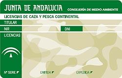 licencia caza andalucia
