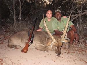 Waterbuck Zimbawe en Cazaworld