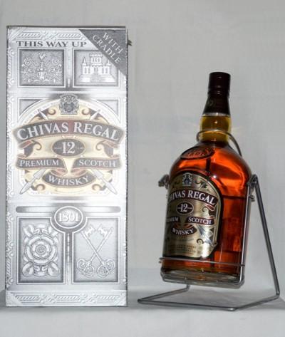 botella chivas 4,5 litros