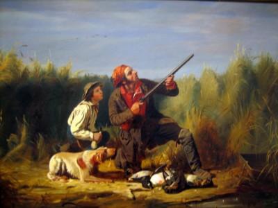 Día del padre cazador