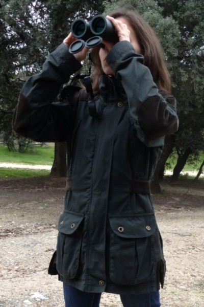 Rocío buscando el corzo