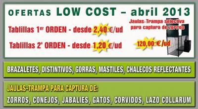 oferta-tablillas-caza Camilo Vilas