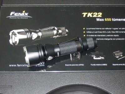 Majestuosa Linterna TK22 de Fénix