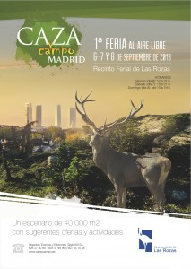 Cartel Caza y Campo Madrid