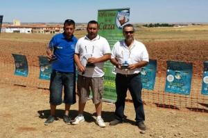 Podium campeonato extremeño de Cordoniz con Lanzadera
