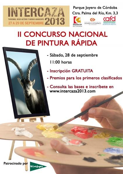 Cartel Concurso Pintura Rapida Intercaza 2013