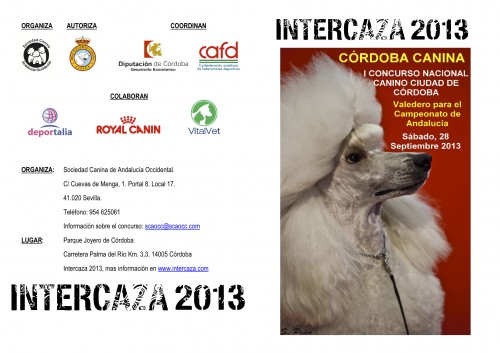 Cartel_I_Concurso_Canino_Intercaza 2013