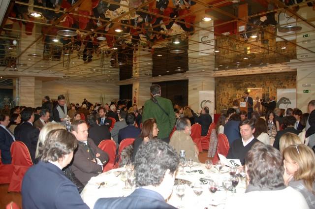 Cena entrega premios cinegética 2013