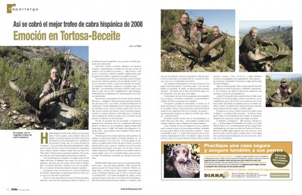 record de Tortosa-Beceite en 2008