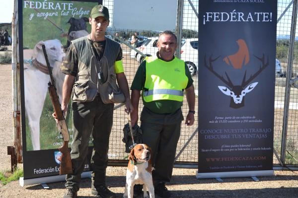 Campeon-Badajoz caza menor con perro