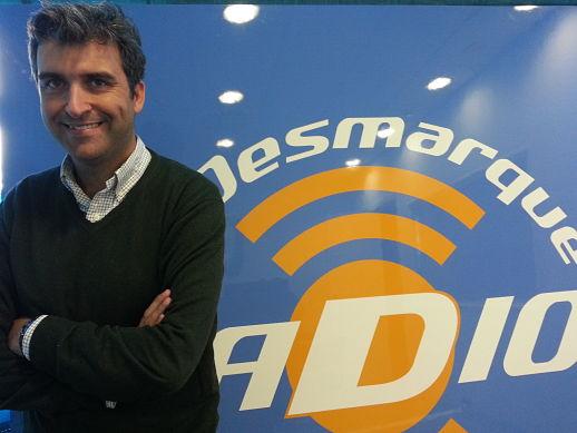 Sebastián Torres presentador de radiocaza