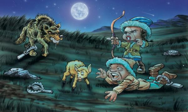 la caza enseñada a través de los cuentos