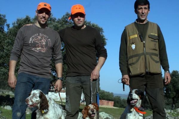Podium Campeonato de Extremadura de Becadas en Cazaworld