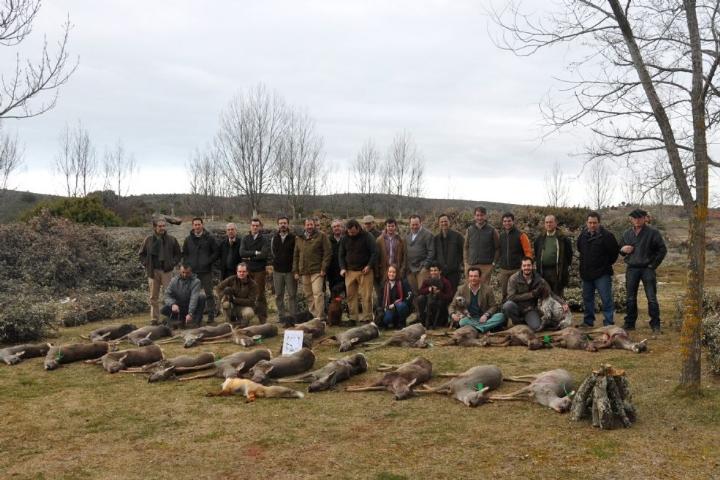 caza de corzas