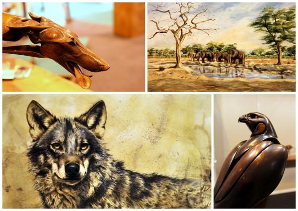 pintura y escultura de caza en Cinegética