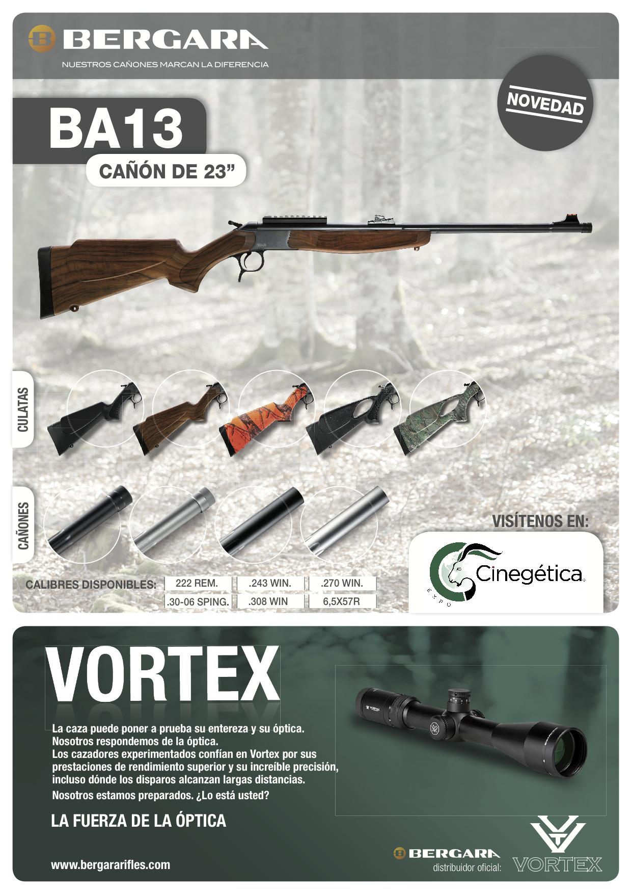 nuevo rifle monotiro BA13