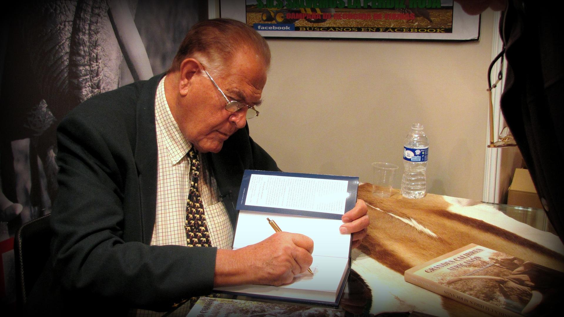 Libro Tony Sanchez-Arino presentado en Cinegética