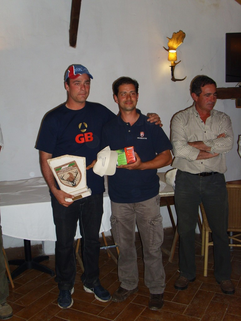 ganador recorridos de caza andalucia 2014 en Cazaworld