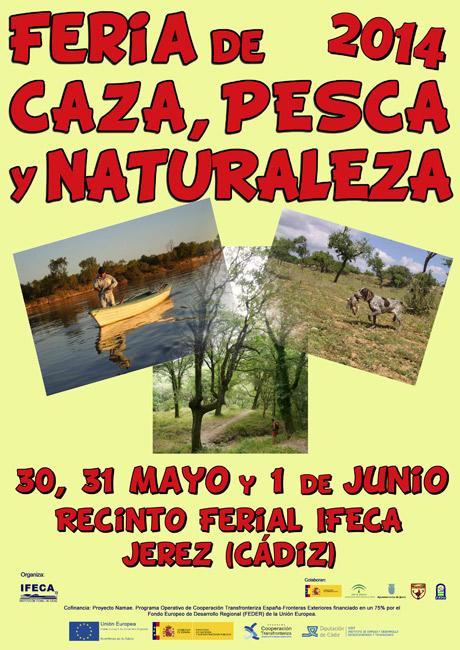 Cartel Feria_Caza_Pesca_y_Natu