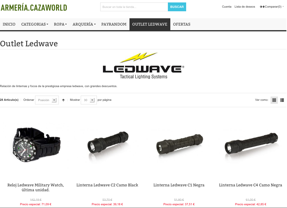Ardesa distribuye Ledwave