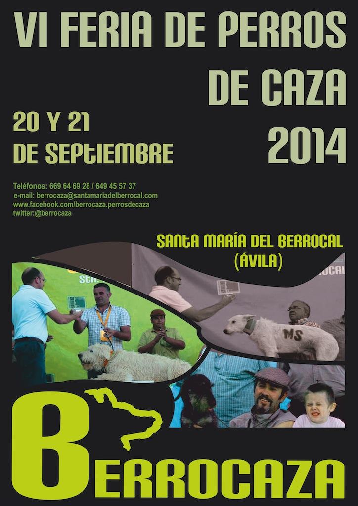 cartel berrocaza 2014