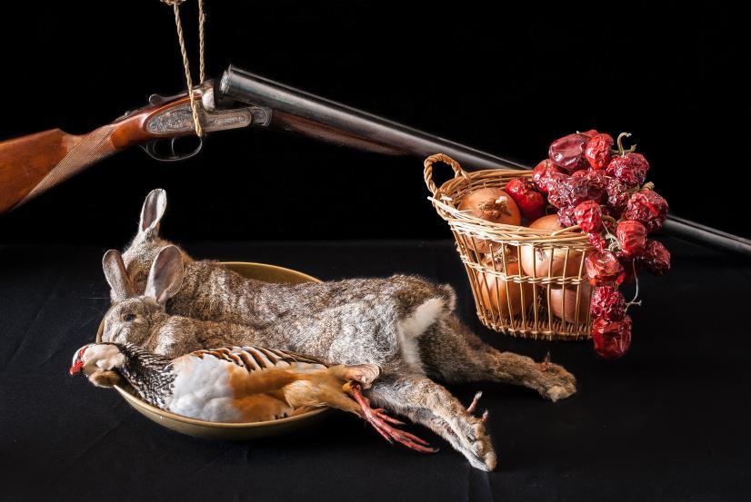 bodegón de caza