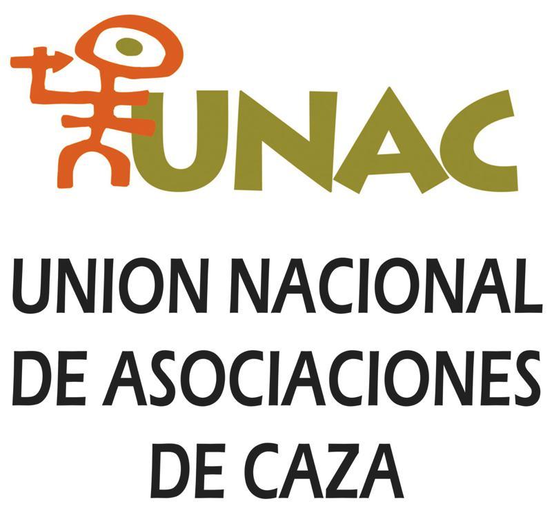 Logotipo de Unión Nacional de Asociaciones de Caza.