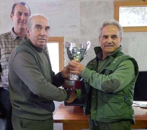 El campeon autonomico, el albaceteno Jose Perez (a)