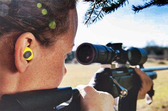 Tapones LEP100 Peltor usados en caza.