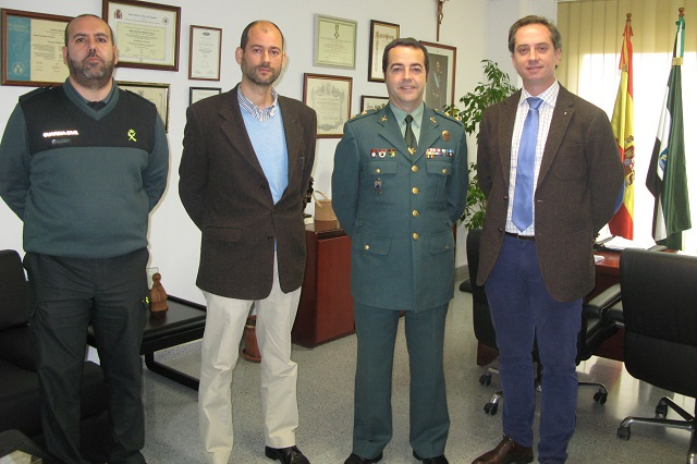 federacion extremena con guardia civil