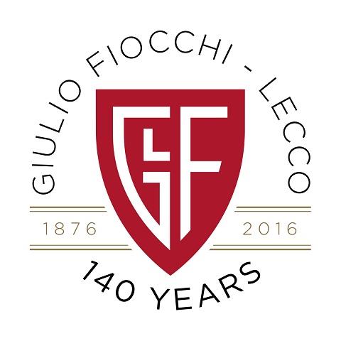 Logotipo de Fiocchi para su 140 aniversario.