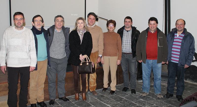 Jornada Galicia corzo y conejo foto de grupo