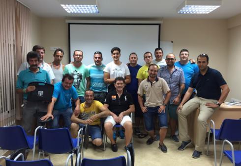 Alumnos y profesores curso FAC 2015