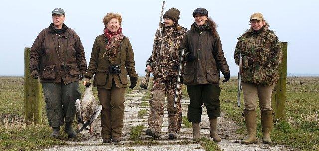 Conferencia mujer y caza sostenible