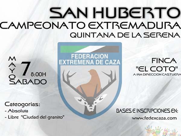 Campeonato San Huberto Extremadura 2016