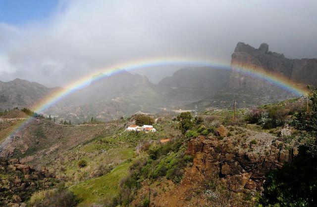 Naturaleza arco iris