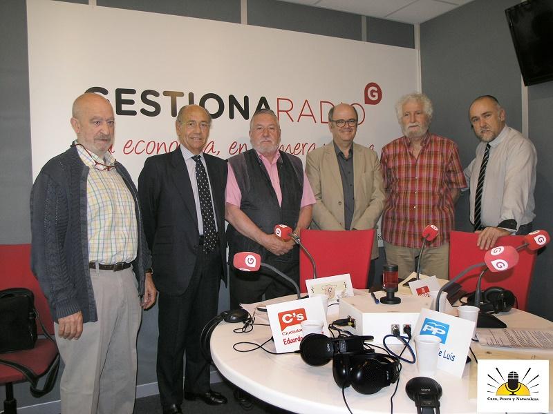 Representantes del PP, PSOE y Ciudadanos en la tertulia política.