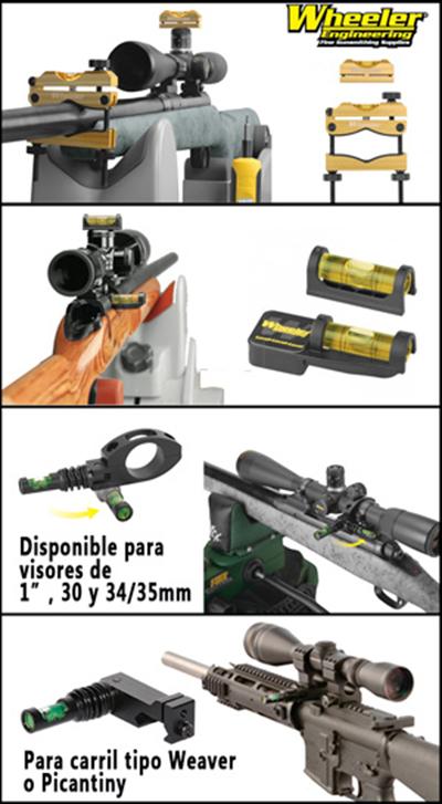 Niveles wheeler distribuidos por Armería Izquierdo