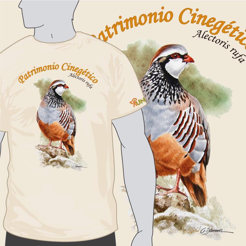 camiseta patrimonio cinegetico