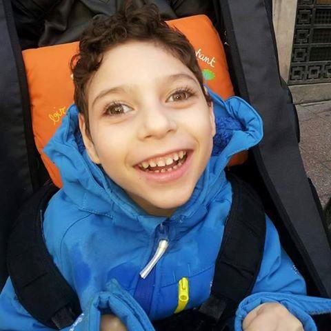 Sorteo benéfico a favor de Jorge, un niño con parálisis cerebral.