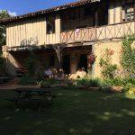 Casa rural donde nos alojamos en nuestra aventura tras los corzos en Francia.