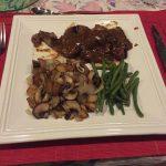 Uno de los platos que comimos en Francia.