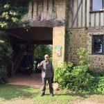 Llegamos a la casa rural donde nos alojaremos para intentar dar caza a los corzos franceses.