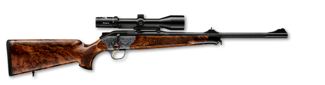 Rifle de cerrojo rectilíneo Blaser R8 Baronesse.
