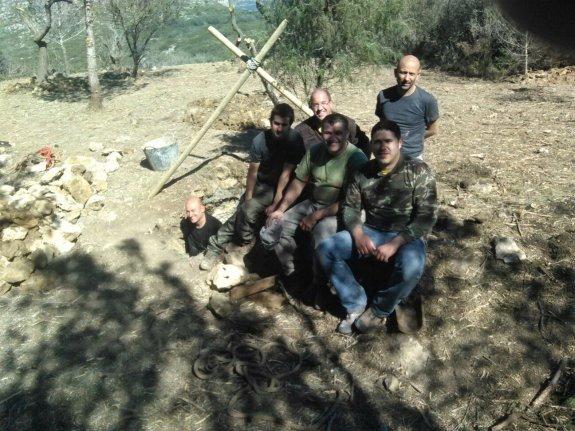 el-grupo-de-trabajo-formado-por-cazadores-de-gata-de-gorgos