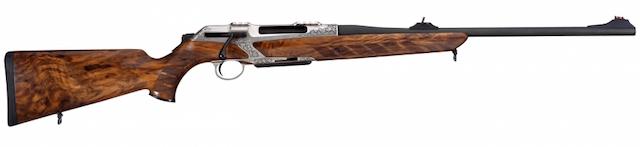 Rifle de cerrojo rectilíneo Merkel RH Helix Luxe