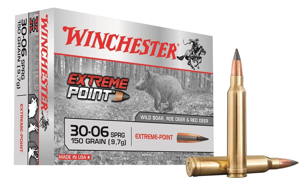 Balas Winchester Extreme Point de punta de plástico.