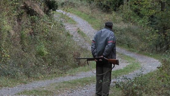 cazador-camino