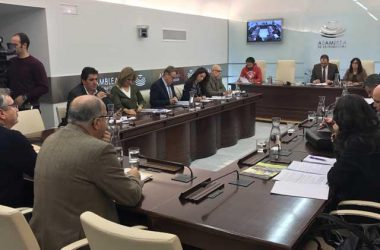 Momento de la Comisión de Medio Ambiente de la Asamblea extremeña / J. Extremadura